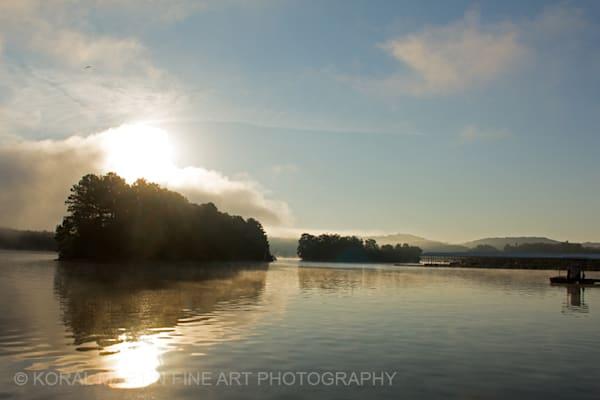 Sunrise Fog Ky Lake Barkley Photograph 8513  | Kentucky Photography | Koral Martin Fine Art Photography