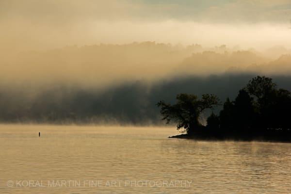 Sunrise fog Ky Lake Barkley Photograph 8561  | Kentucky Photography | Koral Martin Fine Art Photography