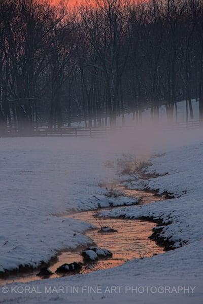 Sunset stream Ky Photograph 9324  | Kentucky Photography | Koral Martin Fine Art Photography