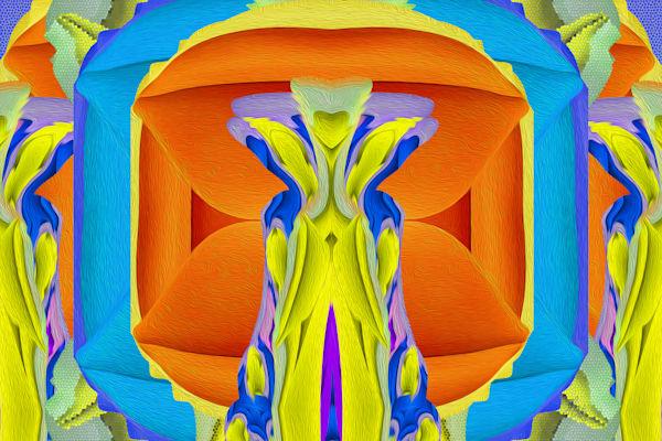Sofa Lips No. 3 print of photograph for sale as digital art by Maureen Wilks