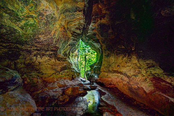 Alum Cove Cave Photograph 0168 | Night Photography | Koral Martin Fine Art Photography