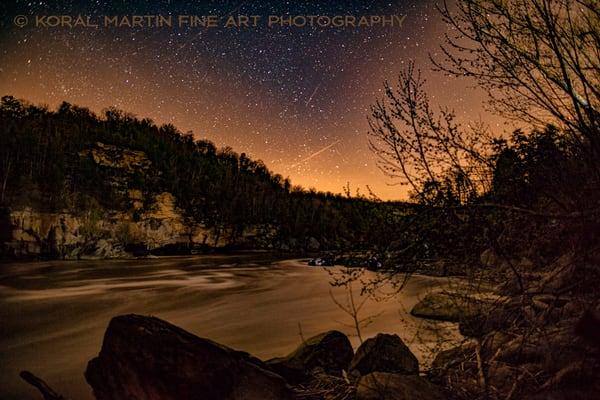 Cumberland River night Photograph 8420  | Night Photography | Koral Martin Fine Art Photography