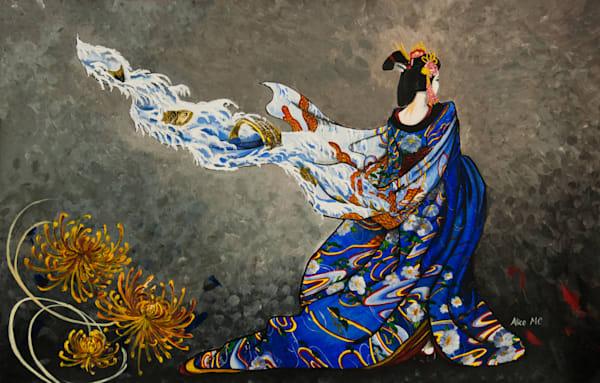 Painted Kimono Art | Alice MC