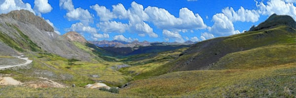 Stony Pass print of photograph for sale as digital art by Maureen Wilks