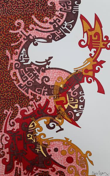 One Thousand Pieces Art | Chris Gray Art