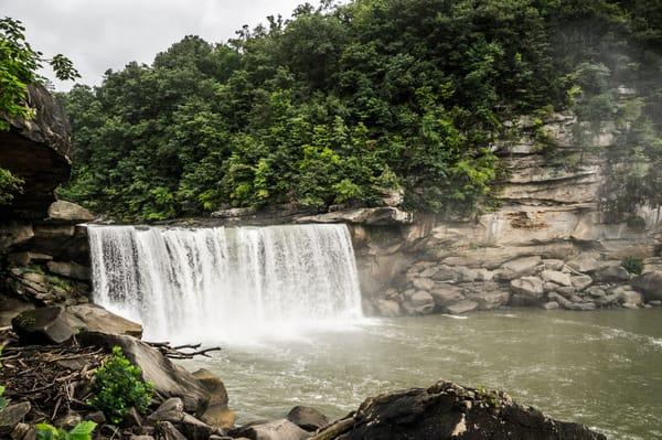 Curtain at Cumberland Falls