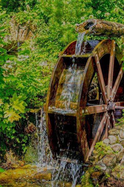 Water Wheel Art | No Blink Pictures, LLC
