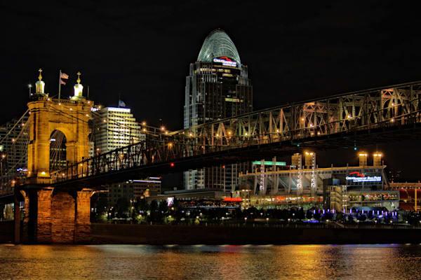 John A. Roebling Suspension Bridge   Dsc1002 Copy Art   No Blink Pictures, LLC