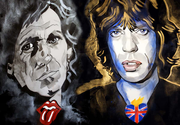 Rolling Stones Art | William K. Stidham - heART Art