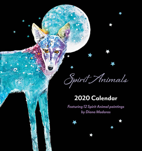 2020 Spirit Animals Mini Wall Calendar