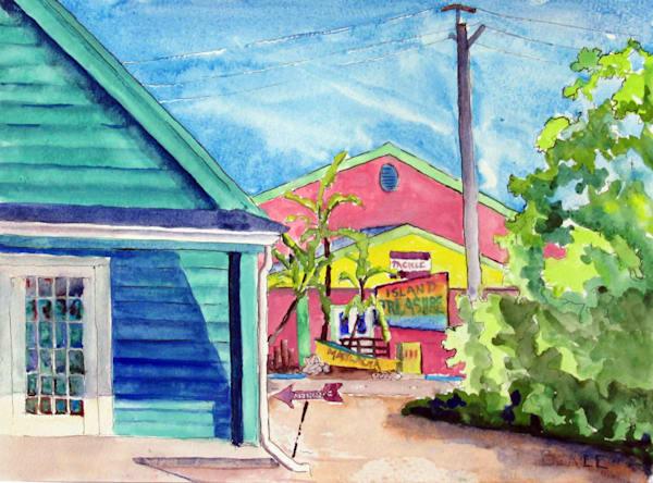 Matlacha From The Gulf Side Art | David Beale