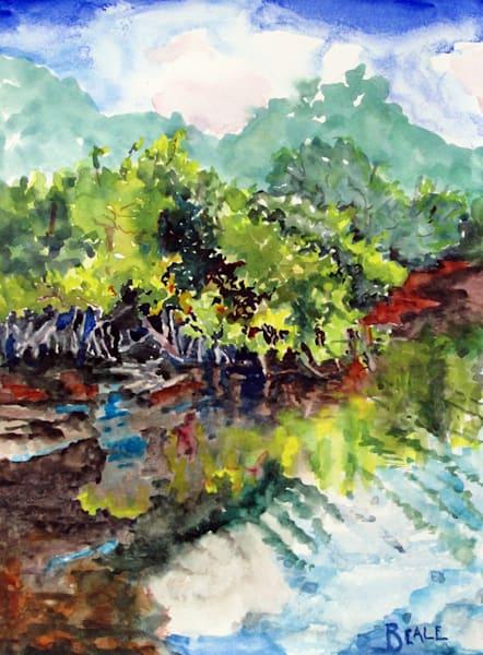 2018004 Mangrovespleinair Art | David Beale