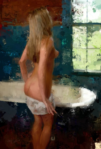 Ready to Bathe by Eric Wallis.