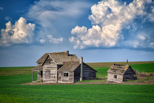 The Old Farmhouse by Rick Berk