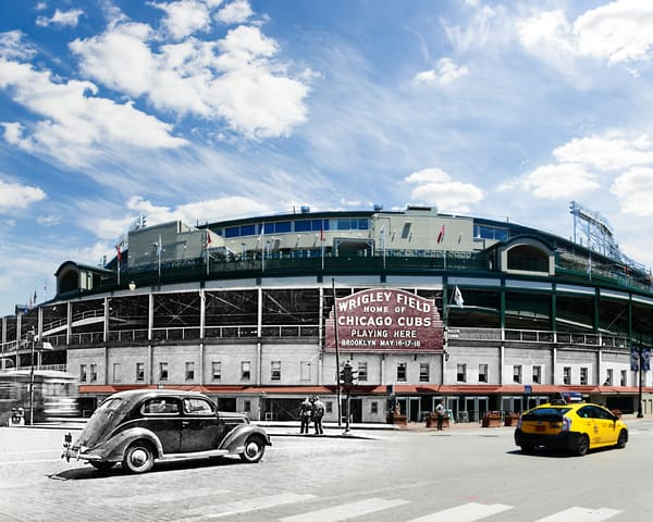 Wrigley Field 1939 Art | Mark Hersch Photography