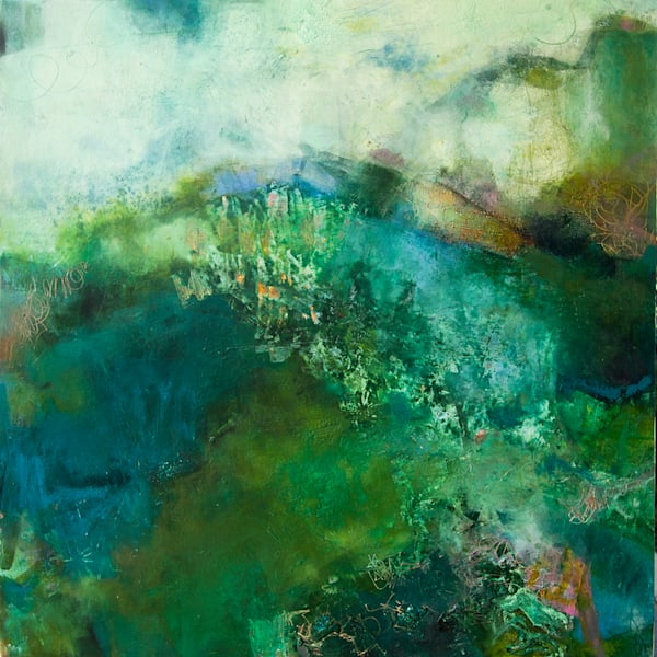 Viridian Valley  by Sharon Kirsh | SavvyArt Market original painting