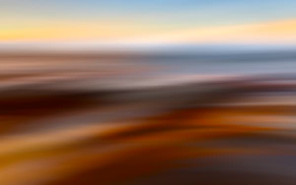 Sunset Wave Abstract Photography Art photo print