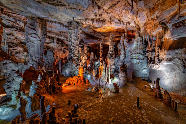 Cathedral Room - Cathedral Caverns State Park photography print