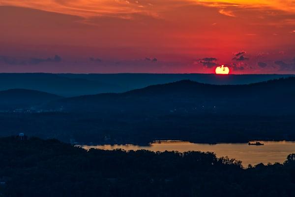 Lake Guntersville sunset photography print