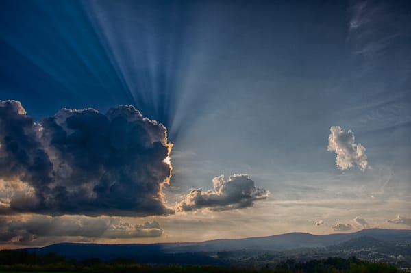 Cloudscapes   And A Cloud Came Floating By   Fine Art Photography   Nathan Larson