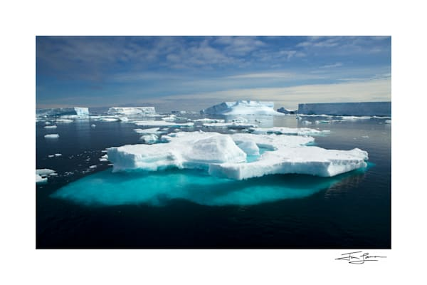 Antarctic Iceberg landscape