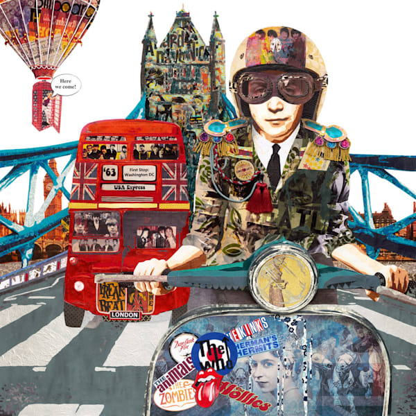 I AM COMING - The British Invasion