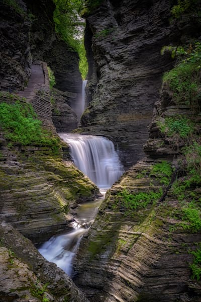 The Narrows of Watkins Glen by Rick Berk