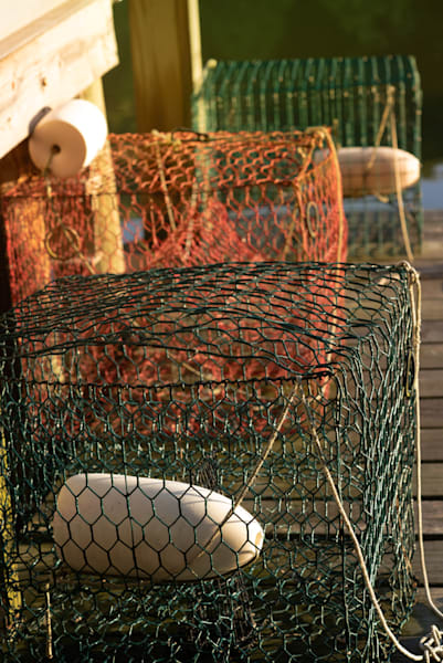 Colorful Crab Pots