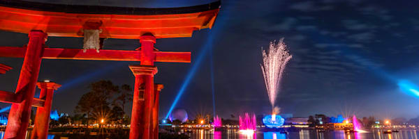 Illuminations from Epcot's Japan - Epcot Center Photos   William Drew