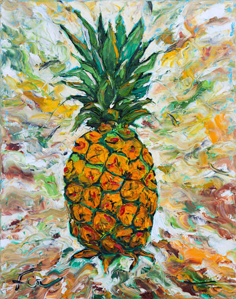 Pineapple original painting