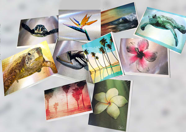 Tropical Greeting Card 10 Pack