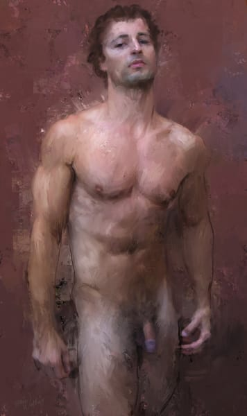 Standing Man by Eric Wallis.