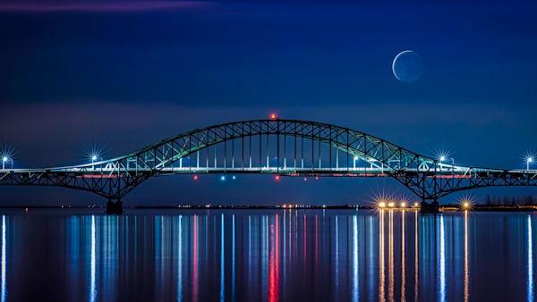 Blue Moon photograph for sal as Fine Art
