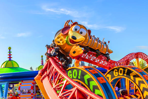 Slinky Dog Dash 1 - Toy Story Land Photos | William Drew Photography