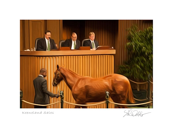Thoroughbred Auction