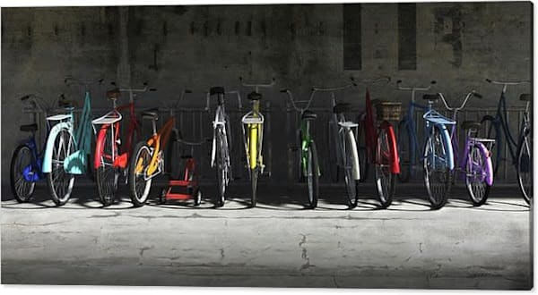 Cynthia Decker | Bike Rack Gallery Canvas