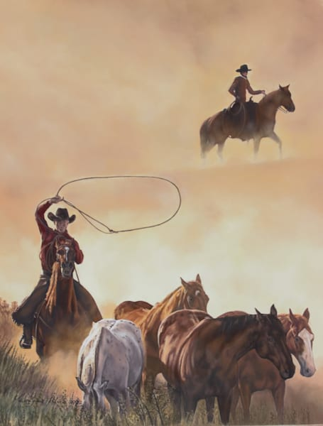 Dust Riders   Limited Edition Print Art   Tohlakai Art
