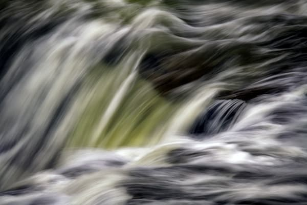 Rushing Waters Over the Upper Falls by Rick Berk