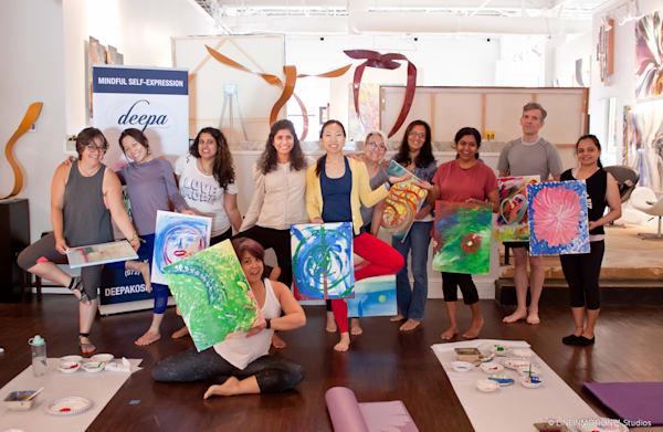 Yoga art   group oss40o