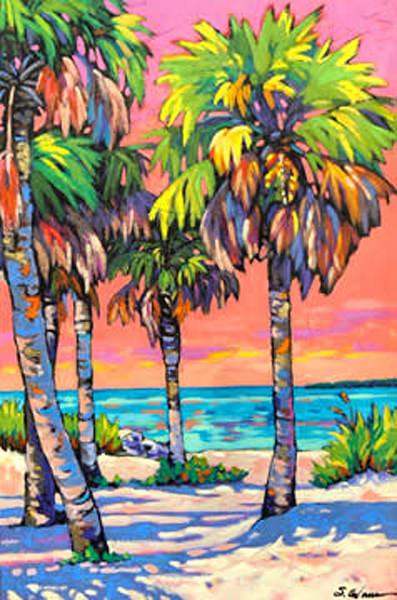Pinellas Dusk Art | Sally C. Evans Fine Art