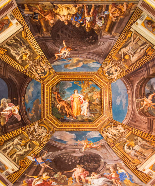 Vatican Ceiling Crop: Fine Art Photography by Shane O'Donnell