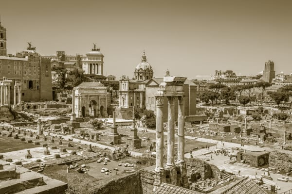 Roman Forum: Travel Photography By Photographer Shane O'Donnell