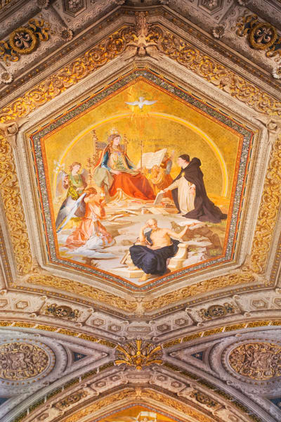 Vatican Ceiling Madonna:  Fine Art Photography by Shane O'Donnell