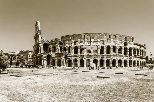 Colloseum in Sepia:  Fine Art Photography by Shane O'Donnell