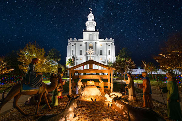 St. George Temple - Christmas Nativity