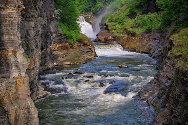 Lower Falls & the Genesee River Gorge by Rick Berk