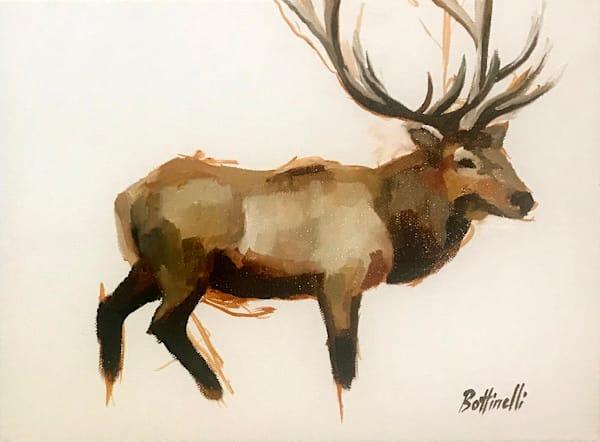 Cataloochee Elk Ii   Original Art   Bottinelli Fine Art
