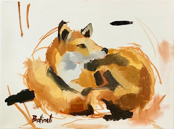 Red Fox Ii   Original Art   Bottinelli Fine Art