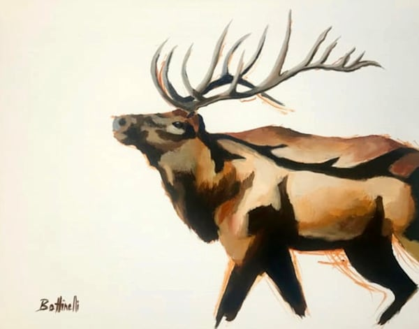 Cataloochee Elk IV - Original