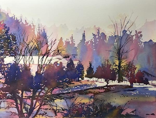 Stirring  Winter Landscape.  Shop Prints/ Patrice Cameron Art